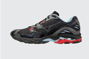 Mizuno WAVE RIDER 10 Men's Sneakers Comfort Shoes Walking Gray NWT D1GA210409