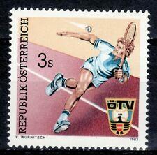 SELLOS DEPORTES AUSTRIA 1982 TENIS 1536 1v. B