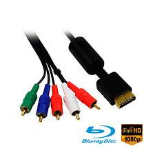 PS2 / PS3 Playstation YUV Komponentenkabel Component Cable 1,50 Meter lang Neu