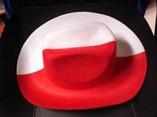 Cowboy - Hut Filz Polen Fussball EM 2016
