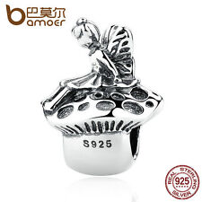Bamoer Authentic S925 Sterling Silver Angel Thread Charms fit bracelet Chain hot