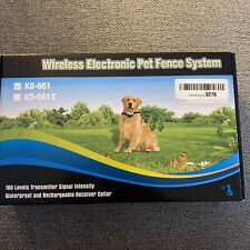 Wireless electronic pet fence system - new Open Box