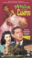 Monster On The Campus (VHS) OOP Cult Horror MCA Universal