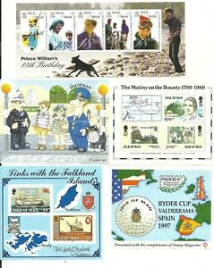 MNH / Mint Condition Isle of Man Mini-sheets - Various Items - Free UK P&P