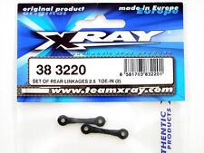 Xray M18 Set of Rear Liens 2.5° Pincement des roues (2) 383220 modélisme