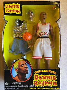 1997 Dennis Rodman Bad As I Wanna Be Action Figure Limited Edition - New Sealed
