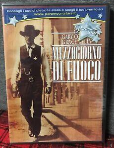 Mezzogiorno di Fuoco DVD Nuovo Sigillato Gary Cooper Grace Kelly Zinnerman