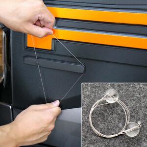 1x Car Auto Truck Emblem Logo Spoiler Stripping Peeling Tool Metal Remover