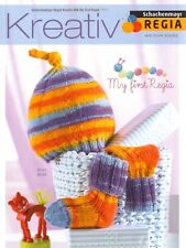 REGIA Kreativ 006 ~ My First Regia ~ Baby Hat, Socks & Bootee Knitting Pattern