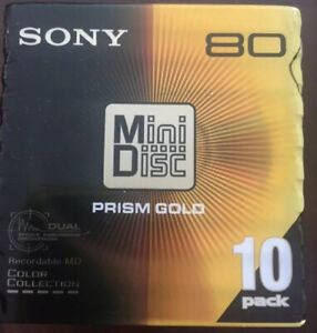 Sony MD80 Discs Pack Of 10