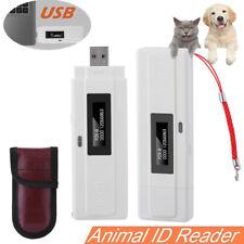 Portatile Lettore RFID portatili Animale Chip Lettore Scanner Microchip Animali Domestici 134.2kHz