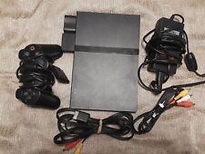 Sony PlayStation 2 SLIM PS2 Bundle Black