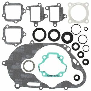 Yamaha PW 80, 1983-2006, Complete/Full Gasket Set with Seals - PW80