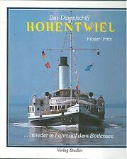 Das Dampfschiff Hohentwiel wieder auf dem Bodensee