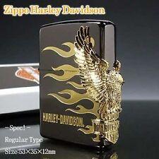 ZIPPO / HARLEY-DAVIDSON Cigarette Oil Lighter       LIMITED EDITION HDP-01