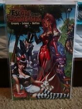 ESCAPE FROM WONDERLAND #1 J SCOTT CAMPBELL SIGNED COVER GRIMM FAIRY TALES
