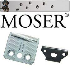 """MOSER 1170 FOX Set Lama per Tosatrice per cani """" NUOVO conf. orig. """""""
