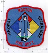 Massachusetts - Boston Haz Mat Operations MA Fire Dept Patch