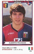 ALBERTO PALOSCHI ITALIA GENOA.CFC RARE UPDATE STICKER CALCIATORI 2011 PANINI