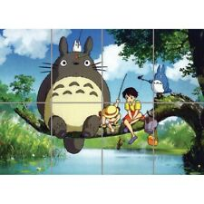Totoro SatsUKi My Neighbour Manga Giant Wall Mural Art Poster Print 47x33 Inches