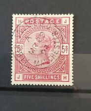 More details for gb queen victoria sg 180 5s rose fine used, light manchester cancel