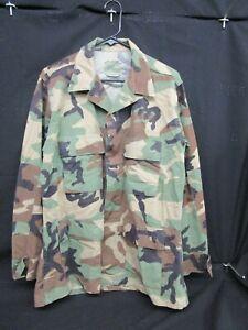 U.S. Military Hot Weather Combat Coat Medium-Regular Woodland BDU Uniform