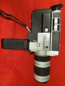 Beautiful Vintage design// Canon Auto Zoom 1014 Electronic. Super 8 Movie Camera