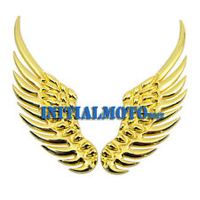 Car SUV Sedan Golden Angel Wings Metal Trunk Lid Logo Emblem Badge Decal Sticker