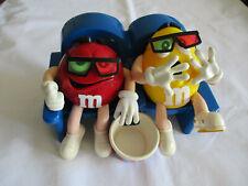 M&M M&M's Spender Figur Red und Yellow im Sessel Kino siehe Fotos