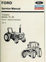 Ford New Holland Ford Tractor Service Manual Series 10, 30 Vol. 2 - Digital Form