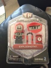 Tube Heroes Exploding TNT Action Figure With Accessories New!!!