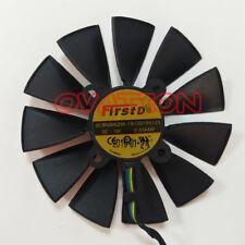 FOR Sapphire XFX Radeon HD7950 HD7970 VAPOR-X Dual Fan Replacement FD9015U12S