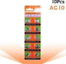 10pcs/pack AG10 LR1130 389 SR1130 Button Batteries 189 LR54 Cell Coin Alkaline