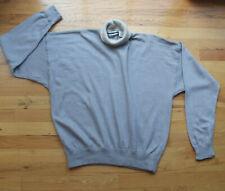 Penn Wright & Manson gray turtleneck sweater (2) angora rabbit hair