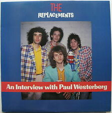 The REPLACEMENTS Pleased To Meet Me 1987 US Promo Only INTERVIEW & MUSIC LP Mint