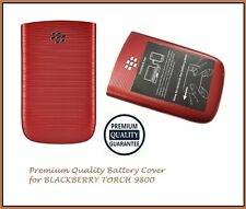 "Genuine Blackberry Torch 9800 Batteria Copertina Posteriore ""Per Blackberry"