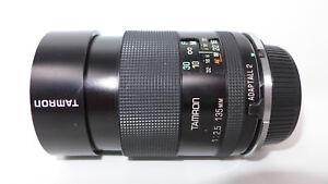 Obiettivo Tamron 1:2.5 135mm 18° BBAR MC diameter 58mm lens teleobiettivo tamron