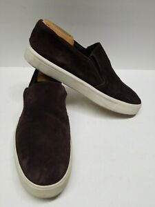 Women's Vince Saxon Brown Loafers Slip On Shoes Size 10.5M Dock Boat Sneakers