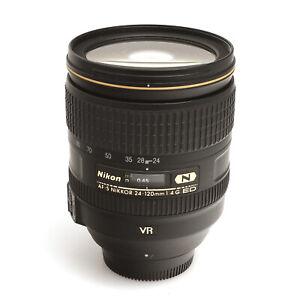 Nikon AF-S Nikkor 24-120mm 1:4 G VR ED (IF) Nanokristallvergütung  #62002480