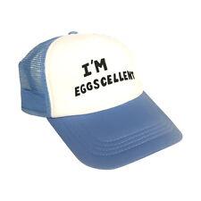 I'm Eggscellent Trucker Hat The Regular Show Cap Rigby Mordecai TV Show Costume