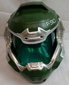 XCOSER Game Doom Doomguy Helmet Cosplay Resin Mask for Halloween Carnival Party