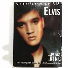 Elvis - From Prince To King - Audiobook CD - Rare Interviews