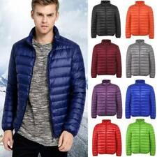 Mens Womens Packable 90% Duck Down Jacket Lightweight Winter Coat Puffer Parka