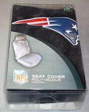 NFL NIB CAR SEAT COVER BY FREMONT DIE - NEW ENGLAND PATRIOTS