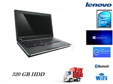 "Lenovo ThinkPad Edge 13"" Laptop Intel Core i3 U380 4GB RAM 320GB HDD Win 10 Pro"