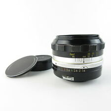 Nikon Nikkor - SC Auto 1.4/50 Objektiv lens + caps