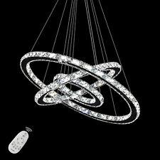 72W Dimmerabile LED Cristallo luce a sospensione plafoniera lampadario