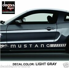 Rocker Panel Stripes for FORD Mustang Shelby GT V6 Ecoboost Fastback Convertible