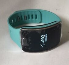 Samsung Galaxy Gear S SM-R750T Blue T-Mobile Excellent Condition Smart Watch