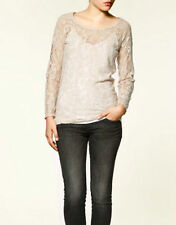 Zara Polyester Plus Size Tops & Shirts for Women
